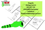 05-WP-198 - Dragonfly with Bonus Cardinal Whirligig Scrollsaw Woodworking Plan PDF