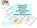 Trumpeting Angel Whirligig Downloadable Scrollsaw Woodworking Plan