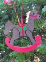 Christmas Rocking Horse Downloadable Scrollsaw Woodworking Plan