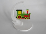 Christmas Train Ornament Downloadable Scrollsaw Woodworking Plan PDF, Christmas,ornaments,trains,locomotives,scrap wood projects,downloadable PDF,tole painting wood crafts,scrollsawing patterns,4-H Club,4H projects,scouts,girl guides,agricultural mechanics,Accents In Pi