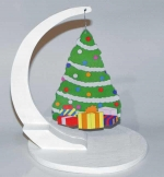 05-WP-214 - Christmas Tree Ornament Downloadable Scrollsaw Woodworking Plan PDF