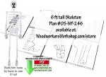 05-WP-246 - Mr Boneman Downloadable Scrollsaw Woodworking Plan PDF