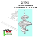 Wind Spinner Woodworking Pattern