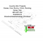 Country Stands Mini Projects Downloadable Woodcrafting Pattern