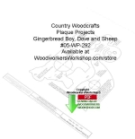 fee plans woodworking resource from WoodworkersWorkshop® Online Store - country-style crafts,Gingerbread Boy,Sheep,Dove,stencils,templates,scrap wood projects,downloadable PDF,tole painting wood crafts,scrollsawing patterns,4-H Club,4H projects,scouts,girl guides,drawings