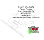 fee plans woodworking resource from WoodworkersWorkshop® Online Store - horse,swan,pig,country-style crafts,stencils,templates,scrap wood projects,downloadable PDF,tole painting wood crafts,scrollsawing patterns,4-H Club,4H projects,scouts,girl guides,drawings,Accents In