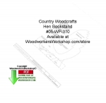 fee plans woodworking resource from WoodworkersWorkshop� Online Store - hens,bookshelves,bookshelfs,on the farm,beginner,novice,stencils,templates,scrap wood projects,downloadable PDF,tole painting wood crafts,scrollsawing patterns,4-H Club,4H projects,scouts,girl guides,