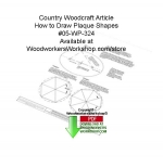 fee plans woodworking resource from WoodworkersWorkshop� Online Store - how to draw shapes,ovals,octagons,hexagons,signs,woodcrafts,stencils,templates,scrap wood projects,downloadable PDF,tole painting wood crafts,scrollsawing patterns,4-H Club,4H projects,scouts,girl gui