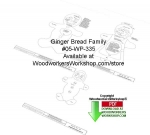 05-WP-335 - Gingerbread Family Downloadable Woodcrafting Article PDF