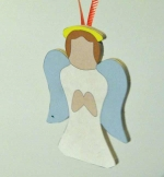 05-WP-337 - Christmas Angel Downloadable Scrollsaw Woodworking Plan PDF