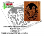 fee plans woodworking resource from WoodworkersWorkshop® Online Store - grouse,animals,wildlife,stencils,templates,scrap wood projects,downloadable PDF,tole painting wood crafts,scrollsawing patterns,4-H Club,4H projects,scouts,girl guides,drawings,Accents In Pine,woodwor