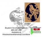 fee plans woodworking resource from WoodworkersWorkshop® Online Store - bluebirds,animals,wildlife,birds,stencils,templates,scrap wood projects,downloadable PDF,tole painting wood crafts,scrollsawing patterns,4-H Club,4H projects,scouts,girl guides,drawings,Accents In Pin