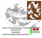 Tarpon Downloadable Scrollsaw Woodcrafting Pattern