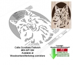 Collie Downloadable Scrollsaw Woodcrafting Pattern