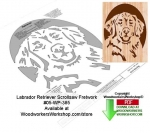 05-WP-385 - Labrador Retriever Downloadable Scrollsaw Woodcrafting Pattern PDF