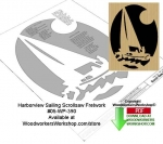 Harborview Sailing Downloadable Scrollsaw Woodcrafting Pattern