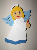 Christmas Angel Downloadable Scrollsaw Woodworking Plan