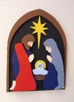 3D Christmas Nativity Downloadable Scrollsaw Woodworking Plan