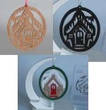 Gingerbread House Ornament Scrollsaw Woodworking Plan