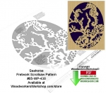 Seahorse Downloadable Scrollsaw Woodcrafting Pattern