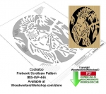 fee plans woodworking resource from WoodworkersWorkshop® Online Store - cockatoo,birds,wildlife,stencils,templates,scrap wood projects,downloadable PDF,tole painting wood crafts,scrollsawing patterns,4-H Club,4H projects,scouts,girl guides,drawings,Accents In Pine,woodwor