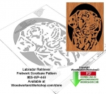 05-WP-448 - Labrador Retriever Downloadable Scrollsaw Woodworking Pattern PDF