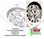 05-WP-450 - St Bernard Downloadable Scrollsaw Woodworking Pattern PDF