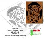 Rottweiller Downloadable Scrollsaw Woodworking Pattern