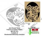 Jack Russell Terrier Downloadable Scrollsaw Woodworking Pattern