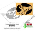05-WP-454 - Chihuahua Downloadable Scrollsaw Woodworking Pattern PDF