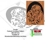 Poodle Downloadable Scrollsaw Woodworking Pattern