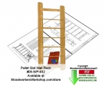 05-WP-462 - Wall Mount Rack Downloadable Scrollsaw Woodcrafting Pattern PDF