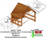 05-WP-471 - Nativity Stable Downloadable Woodcrafting Pattern PDF