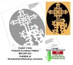 Easter Cross Downloadable Scrollsaw Woodcrafting Pattern