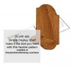 Simple Shelf Unit Downloadable Scrollsaw Woodcrafting Pattern