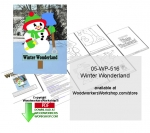 05-WP-516 - Winter Wonderland Yard Art Woodcrafting Pattern Downloadable PDF