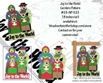 fee plans woodworking resource from WoodworkersWorkshop� Online Store - Christmas,winter,singing,carolers,family,scrap wood projects,downloadable PDF,tole painting wood crafts,scrollsawing patterns,4-H Club,4H projects,scouts,girl guides,drawings,Accents In Pine,woodworki