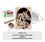 Unicorn Magic Downloadable Scrollsaw Woodcrafting Pattern