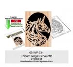 Unicorn Magic Downloadable Scrollsaw Woodcrafting Pattern