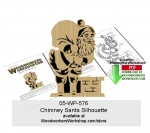 fee plans woodworking resource from WoodworkersWorkshop� Online Store - Santa Claus,Christmas,chimney,silhouettes,fretwork,stencils,templates,scrap wood projects,downloadable PDF,tole painting wood crafts,scrollsawing patterns,4-H Club,4H projects,scouts,girl guides,drawi