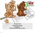 fee plans woodworking resource from WoodworkersWorkshop� Online Store - angels,bells,portrait,silhouettes,stencils,templates,scrap wood projects,downloadable PDF,tole painting wood crafts,scrollsawing patterns,4-H Club,4H projects,scouts,girl guides,drawings,Accents In Pi