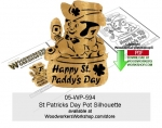 fee plans woodworking resource from WoodworkersWorkshop� Online Store - st patricks day,leprechauns,luck of the irish,pot of gold,st paddys day,stencils,templates,scrap wood projects,downloadable PDF,tole painting wood crafts,scrollsawing patterns,4-H Club,4H projects,sco