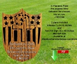 05-WP-605 - In Flanders Field Downloadable Woodcrafting Pattern PDF