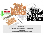 fee plans woodworking resource from WoodworkersWorkshop� Online Store - happy ahlloween,cats,pumpkins,witches,bats,stencils,templates,scrap wood projects,downloadable PDF,tole painting wood crafts,scrollsawing patterns,4-H Club,4H projects,scouts,girl guides,drawings,Acce