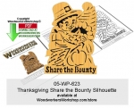 Thanksgiving Share the Bounty Scrollsaw Pattern Downloadable