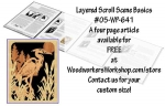 fee plans woodworking resource from WoodworkersWorkshop® Online Store - free articles,layers,3D,wildlife,animals,3-D,silhouettes,layered,scrap wood projects,downloadable PDF,tole painting wood crafts,scrollsawing patterns,4-H Club,4H projects,scouts,girl guides,drawings,A