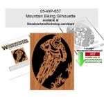 Mountain Biking Scrollsawing Woodworking Pattern Downloadable PDF woodworking plan