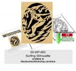 Surfing Scrollsawing Woodworking Pattern Downloadable