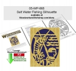Salt Water Fishing Scrollsawing Woodworking Pattern Downloadable