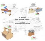 fee plans woodworking resource from WoodworkersWorkshop� Online Store - scroll saw patterns,scrap wood,toys,patterns,drawings,woodworkers projects,workshop blueprints